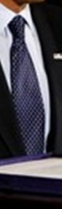 Neck of State: Necktie worn by Barack Obama while signing the new State Children's Health Insurance Program legislation.  February 4, 2009.