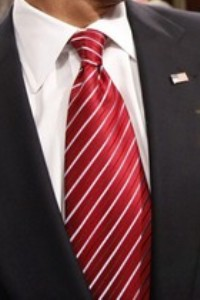 Neck of State: Barack Obama's State of the Nation Tie. February 24, 2009.